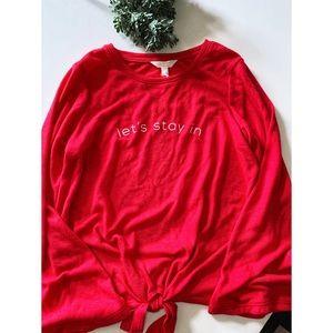 LC LAUREN CONRAD > Let's Stay In Sweatshirt